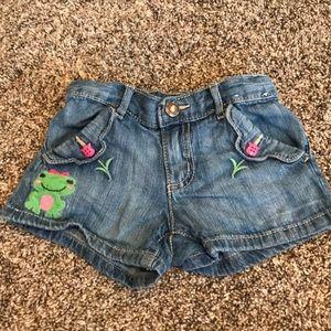 Gymboree Adjustable Waist Shorts